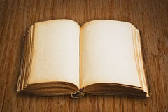 Open pages of vintage book Royalty Free Stock Photo