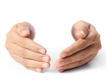 Open palm  hand Royalty Free Stock Image
