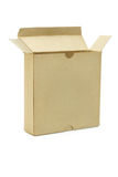 Open paper box Royalty Free Stock Photography