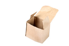 Open paper box Stock Image
