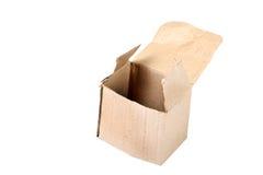 Open paper box Stock Image