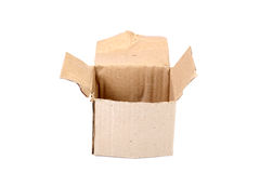 Open paper box Royalty Free Stock Photos