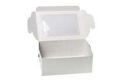 Open Paper Gift Box Stock Image