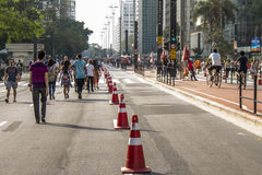Open Paulista Stock Image