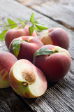 Open peach Stock Photography