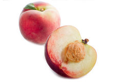 Open peach Stock Photos