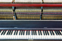 Open the piano Royalty Free Stock Photography
