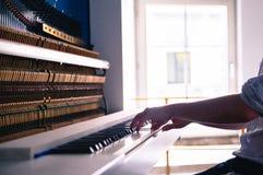Open piano Stock Photos
