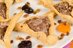 Open pica las empanadas Fotos de archivo