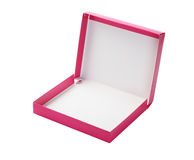Open Pink Paper Box Stock Images