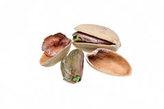Open pistachio nut Royalty Free Stock Images