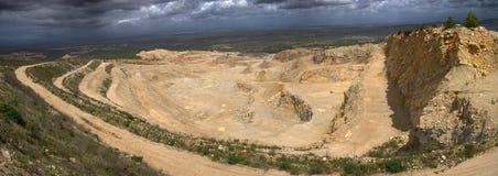 Open-pit шахта Стоковое Изображение RF