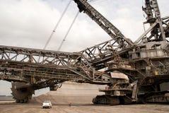 Open-pit шахта, Hambach, Германия Стоковая Фотография