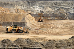 Open Pit 2 Royalty Free Stock Photography