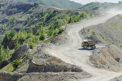 Open pit Royalty Free Stock Photo
