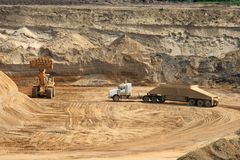 Open Pit stock images