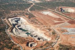 Open Pit - Australia Royalty Free Stock Images