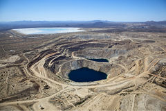 Open Pit Copper Mine