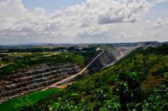 Open Pit Gold Mine, Africa Stock Images