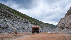 Open Pit Gold Mine, Africa Royalty Free Stock Photography