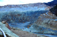 Open pit gold mine in Rosia Montana, Romania Royalty Free Stock Photography