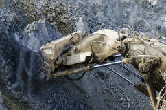 Open pit machinery Royalty Free Stock Images
