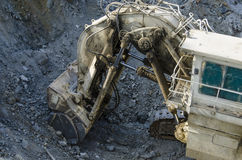 Open pit machinery Stock Image