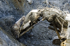 Open pit machinery Stock Photos