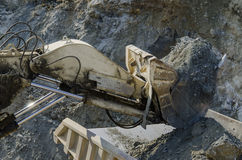 Open pit machinery Stock Photography