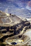 Open Pit Mine. An Open Pit Copper Mine in southern New Mexico Royalty Free Stock Images