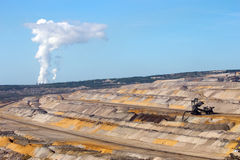 Open pit mine Stock Photos