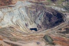 Open Pit Mine stock foto's