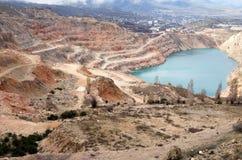 Open pit mine Stock Photos