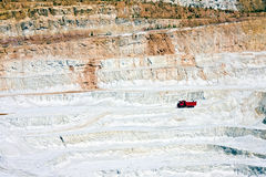 Open-pit mine in Czech Stock Photography