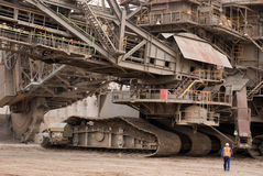 Open-pit mine, Hambach, Germany Stock Image