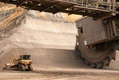 Open-pit mine, Hambach, Germany Stock Image