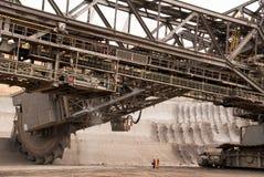 Open-pit mine, Hambach, Germany Royalty Free Stock Image