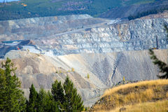 Open Pit Mine / Mining Royalty Free Stock Image