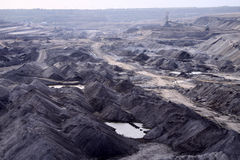Open-pit Mine in Saxony Stock Photography