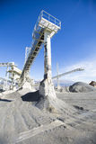 Open pit mining and processing plant Stock Images