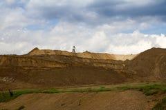 Open pit quarry Stock Photos