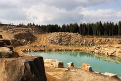 Open pit Royalty Free Stock Image
