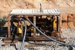 Open Pit Water Pump - Australië Stock Afbeeldingen