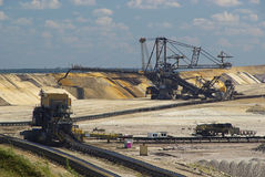 Open pit Welzow 04 Royalty Free Stock Photography