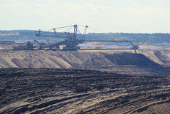 Open pit Welzow Stock Image