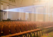 Open Plaatsing bij een Auditorium Stock Foto's