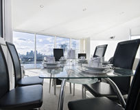 Open plan apartment Royalty Free Stock Images