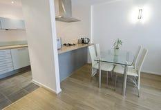 Open plan kitchen Stock Photos