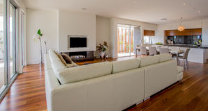 Open Plan Living Area Stock Photos
