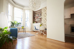 Open Plan Living Area In Modern Apartment Royalty Free Stock Photos